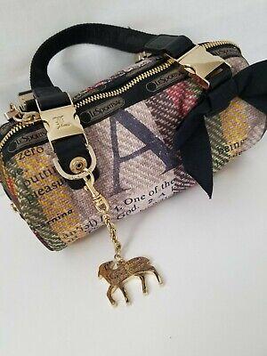 LeSportSac L.A.M.B. RARE handbag Lamb Logo Original Design vintage