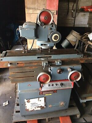 Warner Swasey Norton Taccella 4m Multi Tool And Cutter Grinder
