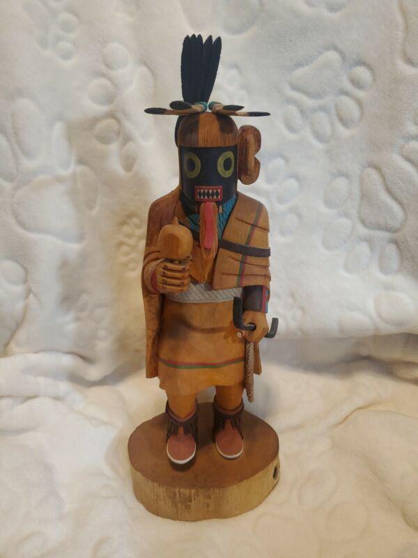 """Hopi Warrior Maiden Kachina by Stewart Lanza 13"""""""