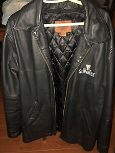 Guinness Leather Jacket