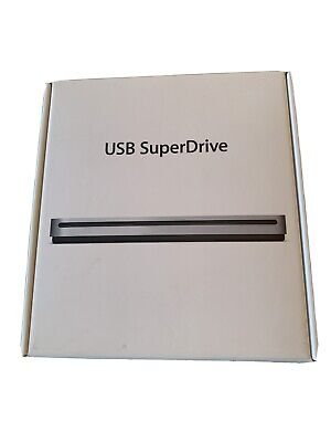Genuine Apple USB SuperDrive Brand New In Box - Never Used MD564ZM/A A1379