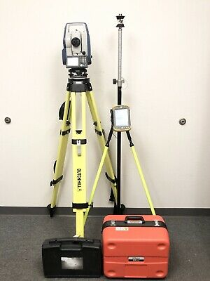 Sokkia Dx-205 Ac 5 Robotic Total Station Tesla Tablet Wpocket 3d Topcon Magnet