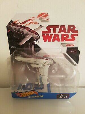 "Hot Wheels Star Wars Starships ""The Last Jedi"" Series - Resistance Bomber"