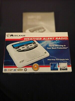 Midland Weather Alert Radio,Early warning is your best protection