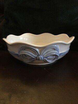 China Blue Bow Serving Bowl