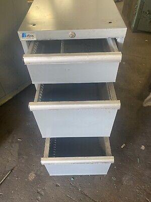 Lista Stanley Vidmar 3 Drawer Tool Cabinet 28-12 X 17 X 33-12