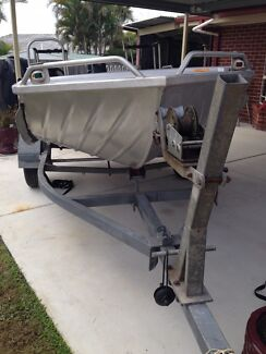 Stacer Proline V Nose Aluminium Runabout Dinghy. Capalaba Brisbane South East Preview
