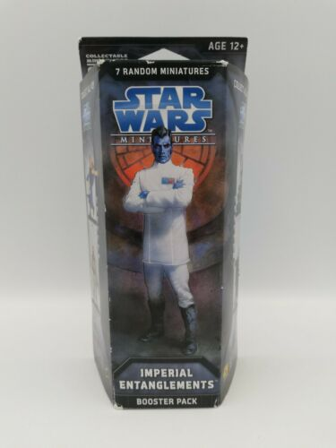 Star Wars Miniatures Imperial Entanglements Booster Pack, Factory Sealed HTF