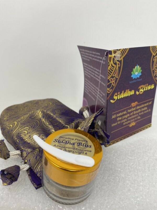 Siddha Bliss, New scent from Scent of Samadhi / Sensitive Planet. meditation