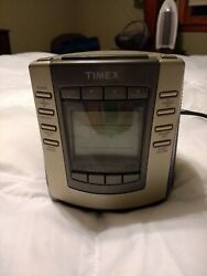 TIMEX Digital Tuning Clock Radio with Nature Sounds T300T Alarm Clock Snooze