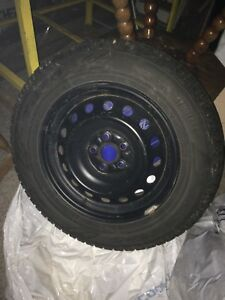 4 Toyo Winter tires on rims