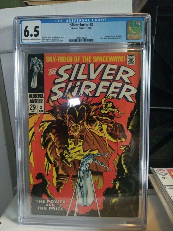 Silver Surfer 3 CGC 6.5  Rumored Marvel phase 4 villain!!!