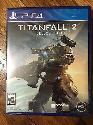 Titanfall 2: Deluxe Edition (Sony PlayStation 4, 2016) BRAND NEW