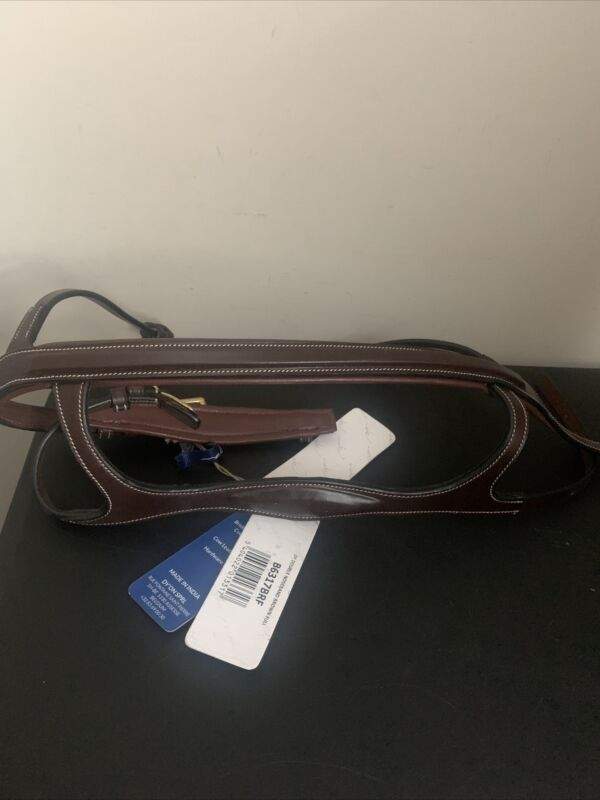 Dyon Collection double noseband BROWN FULL