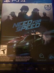 Need for the speed jeux ps4
