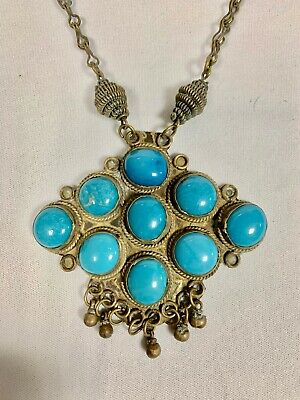 Beautiful Collier Ethnic Turquoise - Africa North