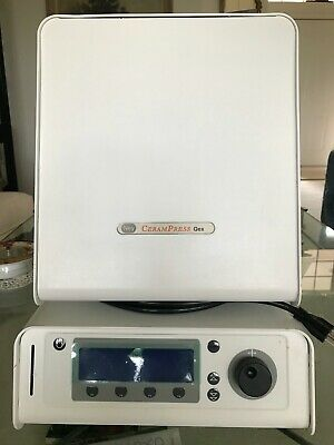 Dental Lab Equipment Usedporcelain Oven Ney Cerampress Qex Wtwo Pump Included