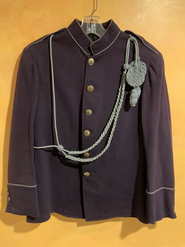 Antique U.S. Military  Army Infantry Uniform M1902. Blue Wool Tunic Jacket