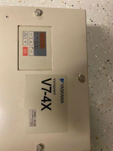 25 HP VFD Variable Frequency Drive YAAKAWA  AC 200-230V