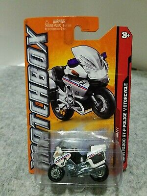 MB '12 - BMW R1200 RT-P POLICE MOTORCYCLE - Diecast 1:64