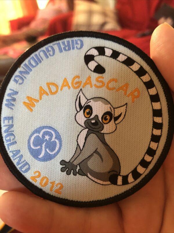 Girl Guiding NE England Madagascar 2012 Woven Badge