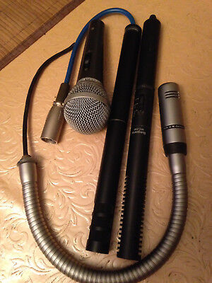 4 alte Mikrofone