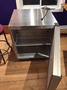 Bar fridge ,stainless steel