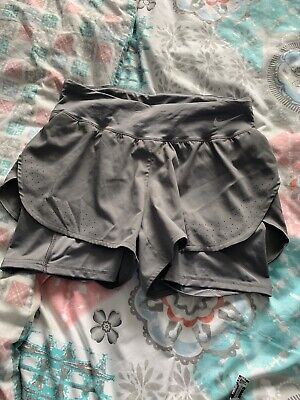 nike dri fit running shorts Size Small -worn Once Ladies Approx 8-10