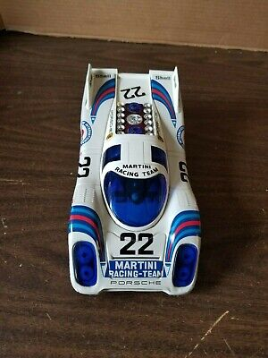 VINTAGE BATTERY OPERATED SEARS PORSCHE 917K TOY RACE CAR 10