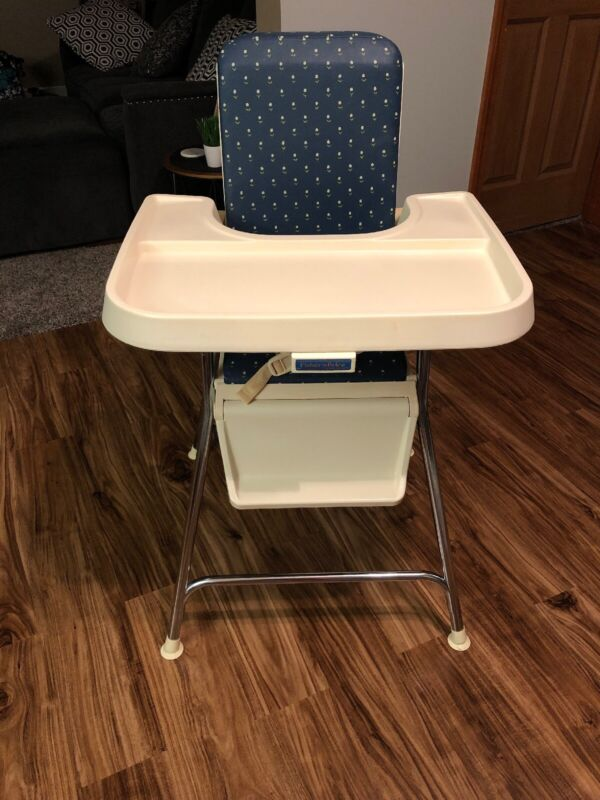 Vintage Fisher-Price 1984 High Chair Full House