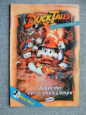 """Micky Maus Hefte, Beilage, Sonderheft zum Film """" Duck Tales """""""