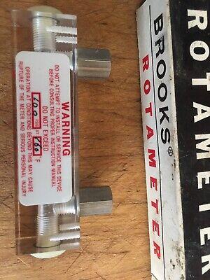Brooks Rotameter 438b New Opened Box