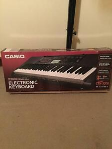 Casio keyboard Swan View Swan Area Preview
