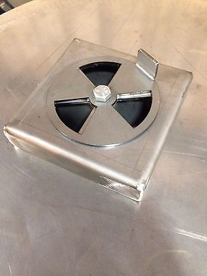 Custom Air Damper For Uds Drum Smoker Wood Burner Cooker Big Sale