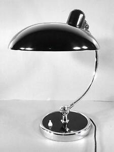 Kaiser Idell Lampe / Modell 6631 / Christian Dell / Fritz Hans / Bauhaus Design