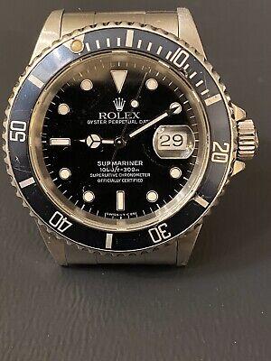 Rolex Submariner 16610 stainless steel, 1996