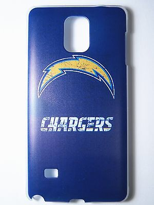 NFL San Diego Chargers Samsung Galaxy Note 4 N910 Pinchbeck One-Piece Slim Case