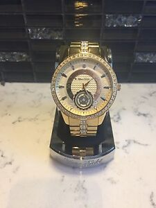 Marc Ecko Gold watch NEW