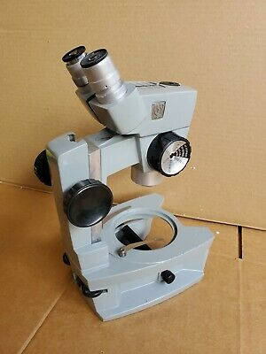Spencer Stereo Zoom Microscope 10x Eyepieces American Optical Ao