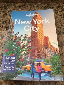 New Lonely Planet New York Travel Guide