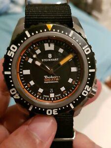Steinhart Triton 1000 Titanium Automatic Dive Watch