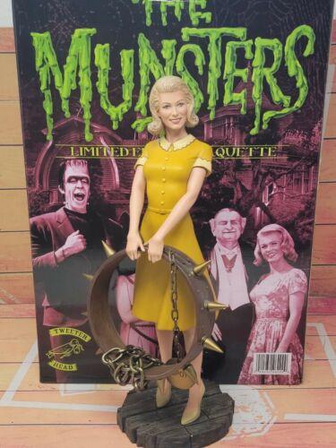 "Tweeterhead The Munsters Mariyln w/ Spot Collar 12"" Statue Limited Edition RARE"