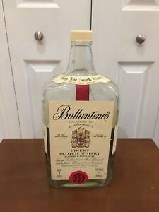 Balintines 133 1/3 Ounce Empty Bottle