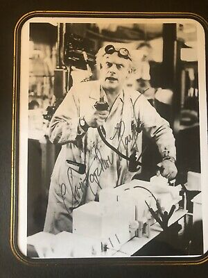 Christopher Lloyd Doc Brown Back to the Future autograph signed photo