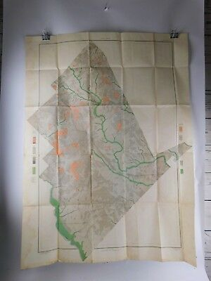 Color Soil Survey Map Georgia Dodge County Sheet 1904
