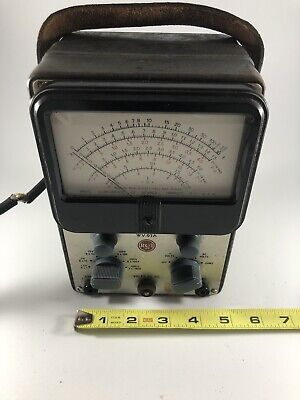 Vintage Rca Senior Voltohmyst Wv-97a Untested Sold As Is