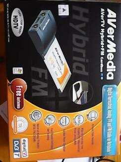 TV and media PCMCIA AVerMedia Cardbus Digital/Analogue TV and PVR