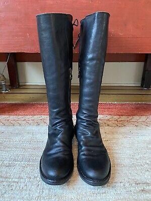 FIORENTINI+BAKER EMMA Eternity Knee Boots, Black Leather, Size 40, 10US