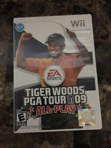 Wii Tiger Woods PGA Tour 09