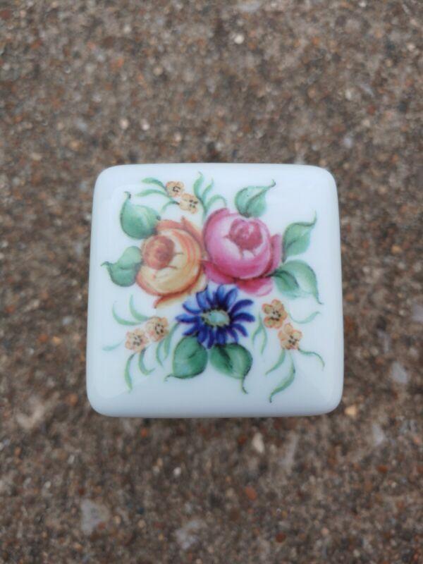 Limoges Trinket Box Floral